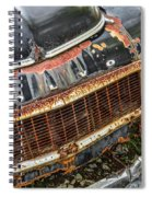 Weathered Spiral Notebook