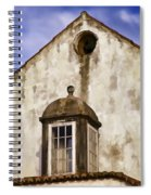 Weathered Home Of Old World Europe Spiral Notebook