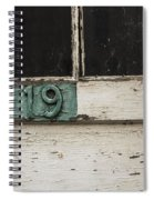Weathered Old Door Spiral Notebook