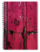 Weathered Red Spiral Notebook