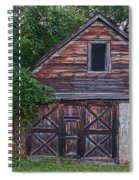 Weathered Wood Spiral Notebook