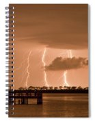 Weaver Park Lightning Spiral Notebook