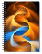 Weaving Color  Spiral Notebook