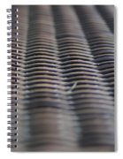 Weaving In And Under Spiral Notebook