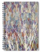 Web Of Branches Spiral Notebook
