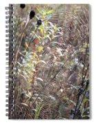 Web We Weave Spiral Notebook