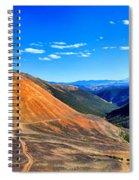 Webster Pass Colorado Spiral Notebook
