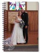 Wedded Spiral Notebook