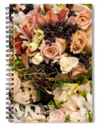 Wedding Bouquets 02 Spiral Notebook