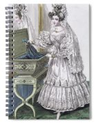 Wedding Dress Spiral Notebook