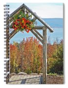 Wedding Gazebo Spiral Notebook