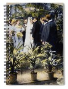 Wedding Party, 1897 Spiral Notebook