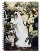 Wedding Party, 1900 Spiral Notebook