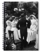 Wedding Party, 1904 Spiral Notebook
