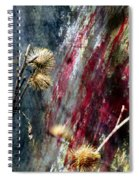Weed Abstract Blend 1 Spiral Notebook