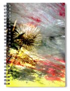 Weed Abstract Blend 2 Spiral Notebook
