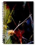 Weed Abstract Blend 3 Spiral Notebook