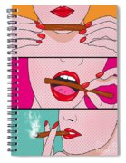 Weed Lady  Spiral Notebook
