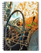 Weedy Steering Spiral Notebook