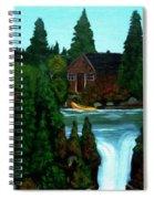 Weekend Hideaway  Spiral Notebook