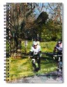 Weekend Riders Spiral Notebook
