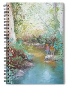 Weekends At The Creek Spiral Notebook