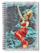 Weeki Wachee Mermaid Spiral Notebook