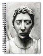 Weeping Angel Don't Blink Doctor Who Fan Art Spiral Notebook