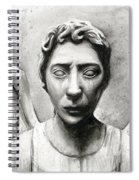 Weeping Angel Don't Blink Doctor Who Fan Art Spiral Notebook