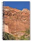 Weeping Rock In Zion National Park Spiral Notebook