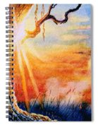 Weeping Willow Sighs Spiral Notebook