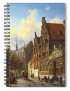 Weeshuis In Leiden Spiral Notebook