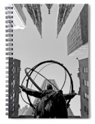 Weight Of The World Spiral Notebook