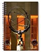 Weight Of The World Spiral Notebook