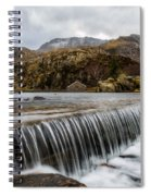 Weir At Ogwen Spiral Notebook