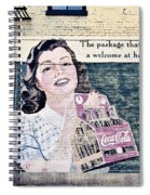 Welcome At Home Spiral Notebook