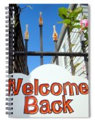 Welcome Back Spiral Notebook