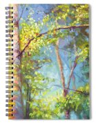 Welcome Home - Birch And Aspen Trees Spiral Notebook