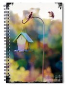 Welcome Neighbor - Digital Art Spiral Notebook