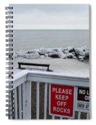 Welcome Polar Bear Club Spiral Notebook