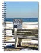 Welcome To Asbury Park Spiral Notebook