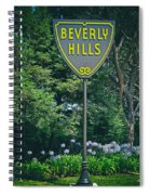 Welcome To Beverly Hills Spiral Notebook