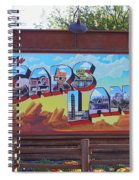 Welcome To Cars Land Spiral Notebook