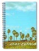 Welcome To Daytona Beach Spiral Notebook