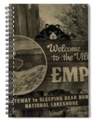 Welcome To Empire Michigan Spiral Notebook