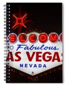 Welcome To Fabulous Las Vegas Spiral Notebook