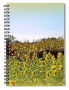Welcome To Gorman Farm In Evandale Ohio Spiral Notebook