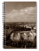 Welcome To London Spiral Notebook