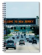 Welcome To New Jersey Spiral Notebook