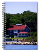 Welcome To Oak Bluffs Spiral Notebook